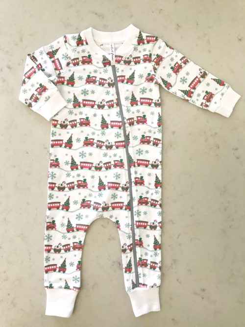Velvet Fawn Coverall All Aboard
