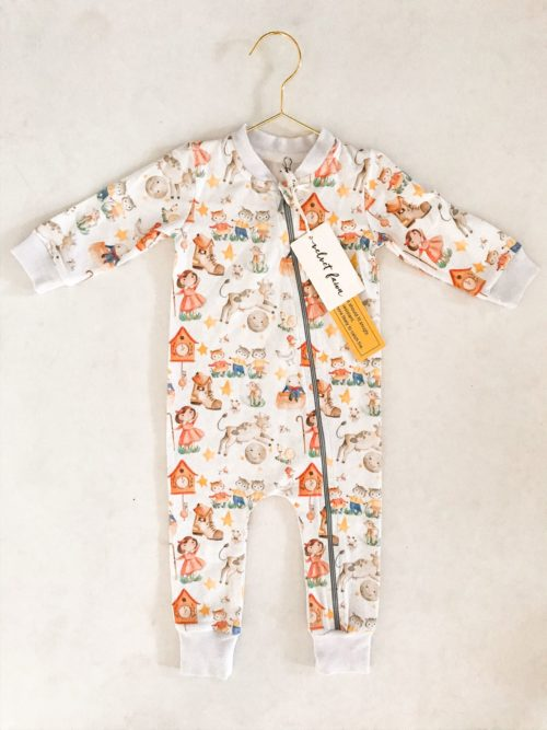 Velvet Fawn Coverall Rhyme Time