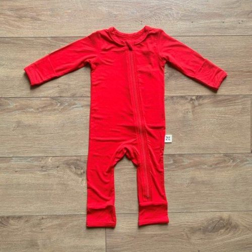 Kozi Coverall  Holly Red Solid